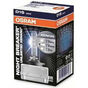 OSRAM D1S 35W NIGHT BREAKER UNLIMITED XENON 4350K