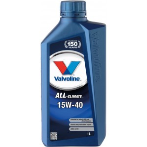 Моторно масло VALVOLINE ALL CLIMATE 15W-40 1L