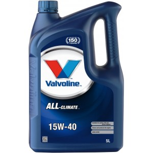 Моторно масло VALVOLINE ALL CLIMATE 15W-40 5L