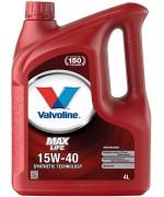 VALVOLINE MAXLIFE 15W-40 4L