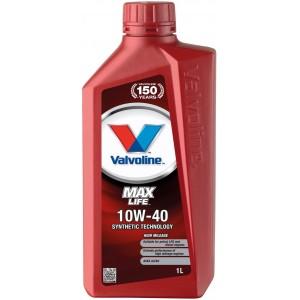 Моторно масло VALVOLINE MAXLIFE 10W-40 1L
