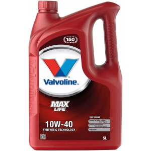 Моторно масло VALVOLINE MAXLIFE 10W40 5L