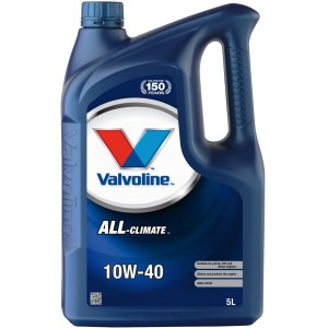 Моторно масло VALVOLINE ALL CLIMATE 10W40 5L