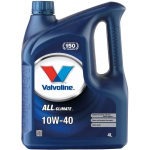 Моторно масло VALVOLINE ALL CLIMATE 10W40 4L