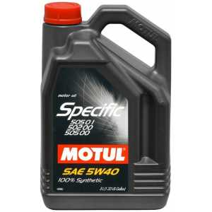 MOTUL SPECIFIC VW 505.01/502.00 5W-40 5L