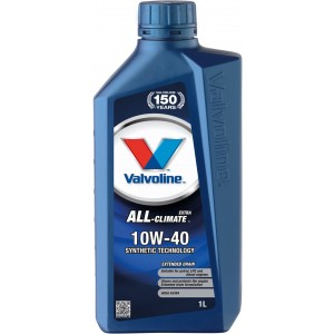 Моторно масло VALVOLINE ALL CLIMATE EXTRA 10W40 1L