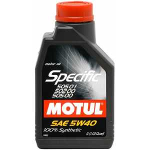 MOTUL SPECIFIC VW 505.01/502.00 5W-40 1L