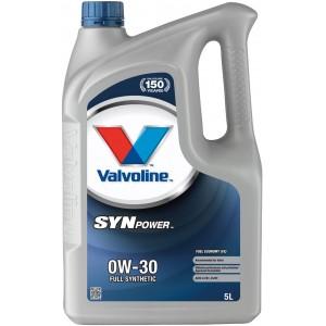 Моторно масло VALVOLINE SYNPOWER FE 0W30 5L