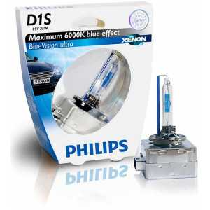 PHILIPS D1S 35W C1 BLUEVISION ULTRA XENON 6000K