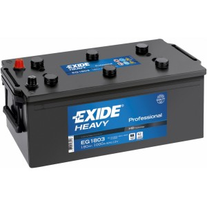 Акумулатор EXIDE HEAVY PROFESSIONAL 180AH 1000A