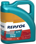 Моторно масло REPSOL ELITE INJECTION 10W-40 четири литра
