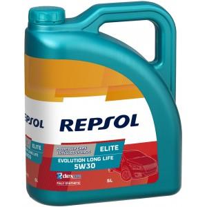 Моторно масло REPSOL ELITE EVOLUTION LONG LIFE 5W-30 пет литра