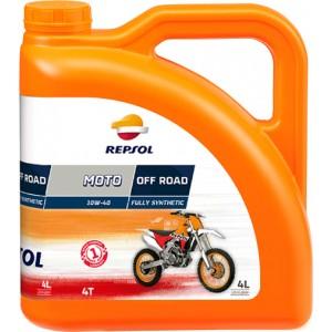Мотоциклетно масло REPSOL MOTO OFF ROAD 4T 10W-40 четири литра
