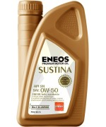 Моторно масло ENEOS SUSTINA 0W50 1L