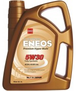 Моторно масло ENEOS PREMIUM HYPER MULTI 5W30 4L