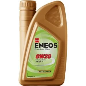 Моторно масло ENEOS PREMIUM ULTRA 0W-20 1L