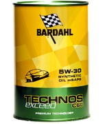 Моторнни масла BARDAHL TECHNOS C60 EXCEED 5W30 1L