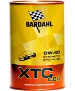 Моторно масло BARDAHL XTC C60 0W40 1L
