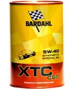Моторно масло BARDAHL XTC C60 5W40 1L