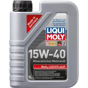Моторно масло LIQUI MOLY MOS2 LEICHTLAUF 15W-40 1L