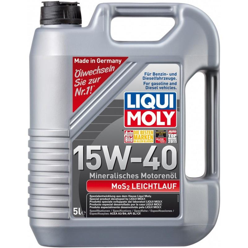 LIQUI MOLY MOS2 LEICHTLAUF 15W-40 5L