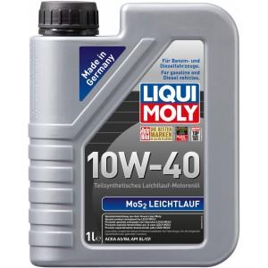Моторно масло LIQUI MOLY MOS2 LEICHTLAUF 10W-40 1L