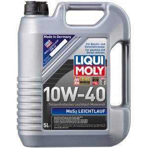 Моторно масло LIQUI MOLY MOS2 LEICHTLAUF 10W-40 пет литра