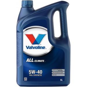 VALVOLINE ALL CLIMATE 5W-40 5L