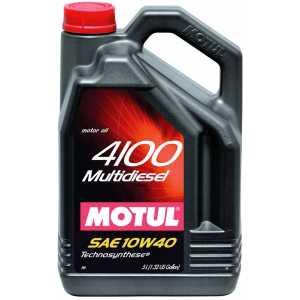 MOTUL 4100 MULTIDIESEL 10W-40 5L