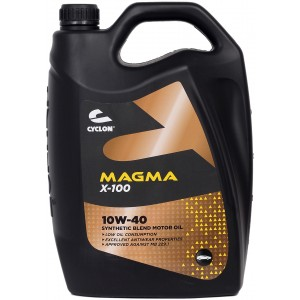 Моторно масло CYCLON MAGMA X-100 10W40 пет литра
