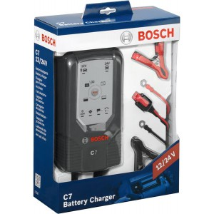 BOSCH C7 12/24V 3.5/7A Зарядно устройство