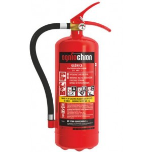 OGNIOCHRON GP4X 27A/144B/C 4KG Прахов пожарогасител с манометър