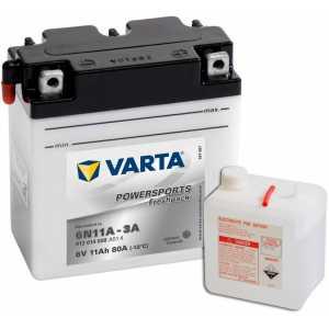Акумулатор VARTA POWERSPORTS FRESHPACK 11AH 80A 6V 6N11A-3A
