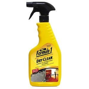 FORMULA 1 CARPET & UPHOLSTERY CLEANER  592ML