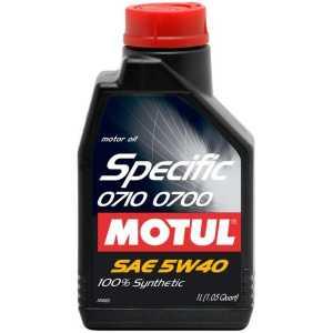 MOTUL SPECIFIC 0700/0710 5W-40 1L