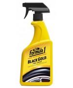FORMULA 1 BLACK Почистване на гуми 680ML