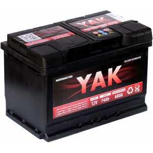 YAK 74AH 680A R+
