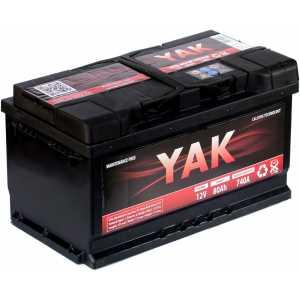 YAK 80AH 740A R+
