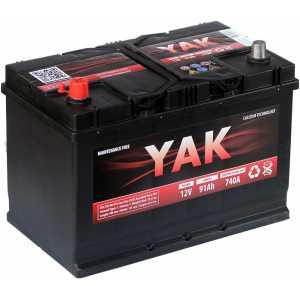YAK 91AH 740A JIS L+