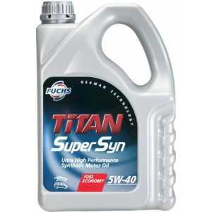 FUCHS TITAN SUPERSYN 5W-40 4L