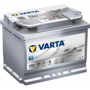 Акумулатор VARTA SILVER DYNAMIC AGM D52 60AH 680A R+