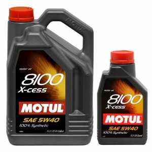 MOTUL 8100 X-CESS 5W-40 5+1L