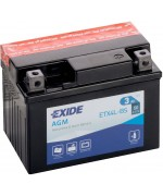 EXIDE BIKE AGM YTX4L-BS 3AH 50A 12V R+