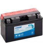 EXIDE BIKE AGM YT7B-BS 6.5AH 85A 12V L+