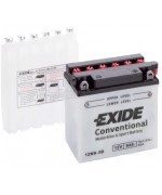 EXIDE BIKE 12N9-3B 9AH 85A 12V R+