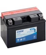 EXIDE BIKE AGM YT12A-BS 9.5AH 130A 12V L+