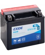 EXIDE BIKE AGM YTX12-BS 10AH 150A 12V L+