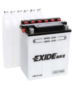 EXIDE BIKE YB14-A2 14AH 145A 12V L+