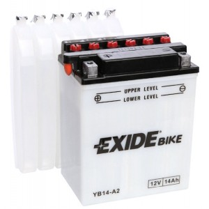 Акумулатор за мотоциклет EXIDE BIKE YB14-A2 14AH 145A 12V L+