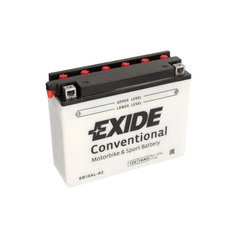 EXIDE BIKE YB16AL-A2 16AH 175A 12V R+